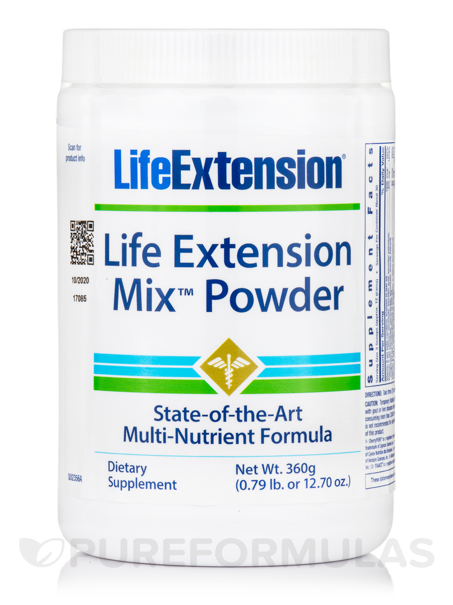 Life Extension Mix Powder - 14.81 oz (420 Grams)