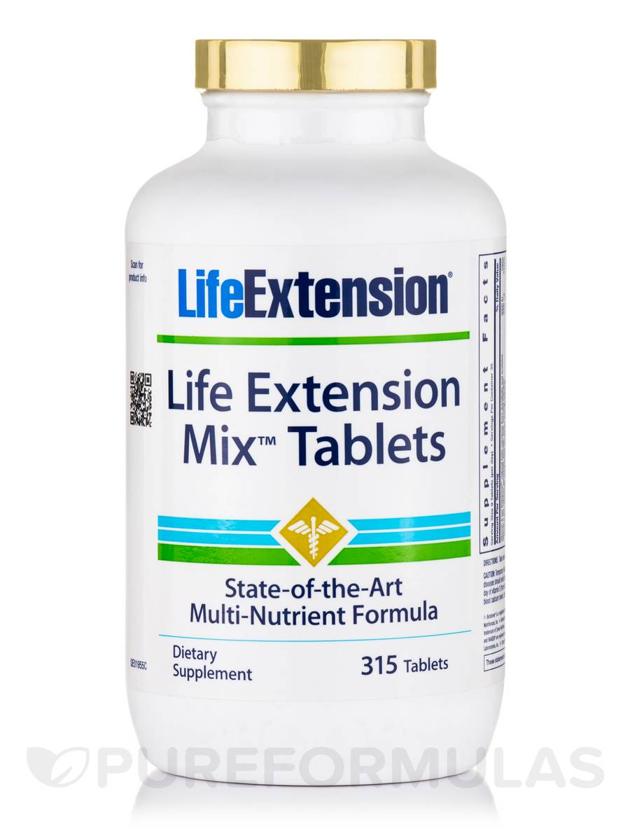 Life Extension Mix™ Tablets - 315 Count