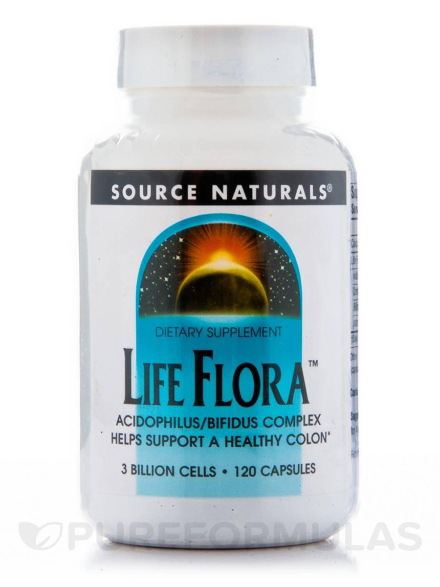 Life Flora 300 mg - 120 Capsules