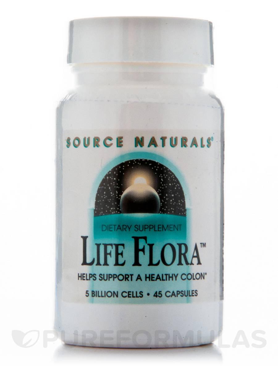 Life Flora 500 mg - 45 Capsules
