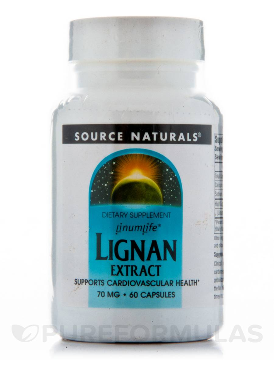 Lignan Extract 70 mg - 60 Capsules