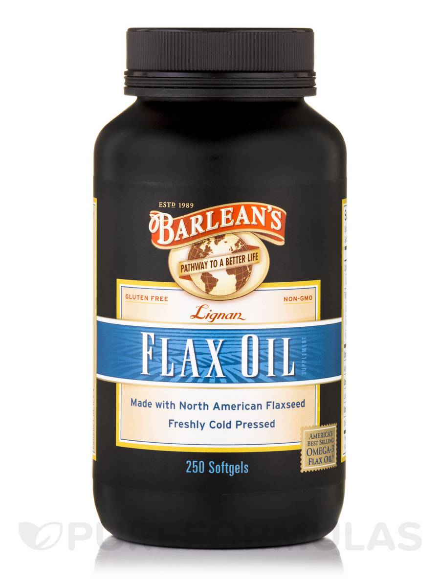 Flax Oil (Lignan) - 250 Softgels
