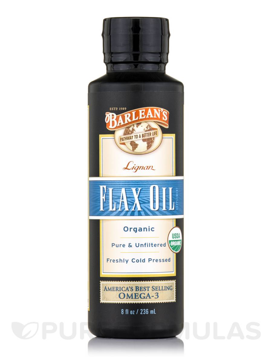 Lignan Flax Oil - 8 fl. oz (236 ml)