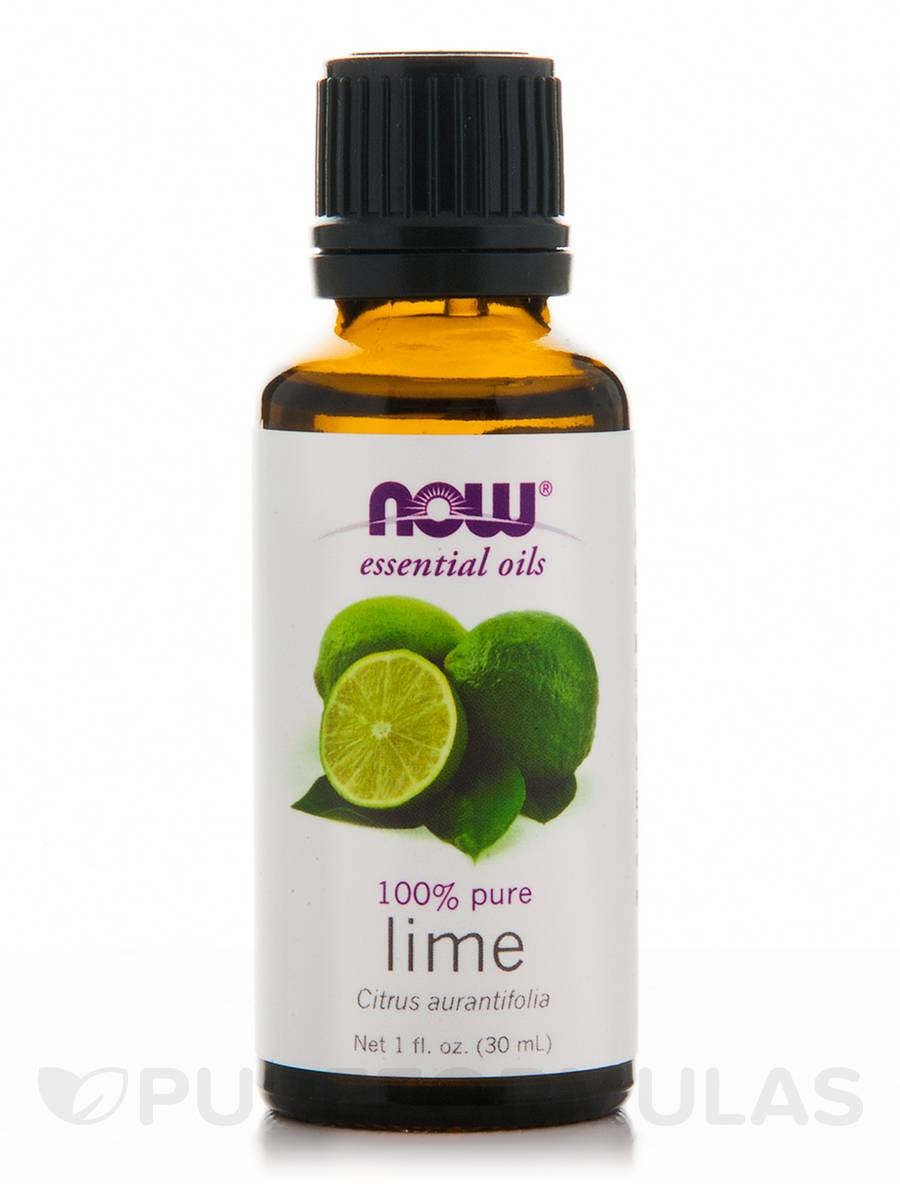 NOW® Essential Oils - Lime Oil - 1 fl. oz (30 ml)