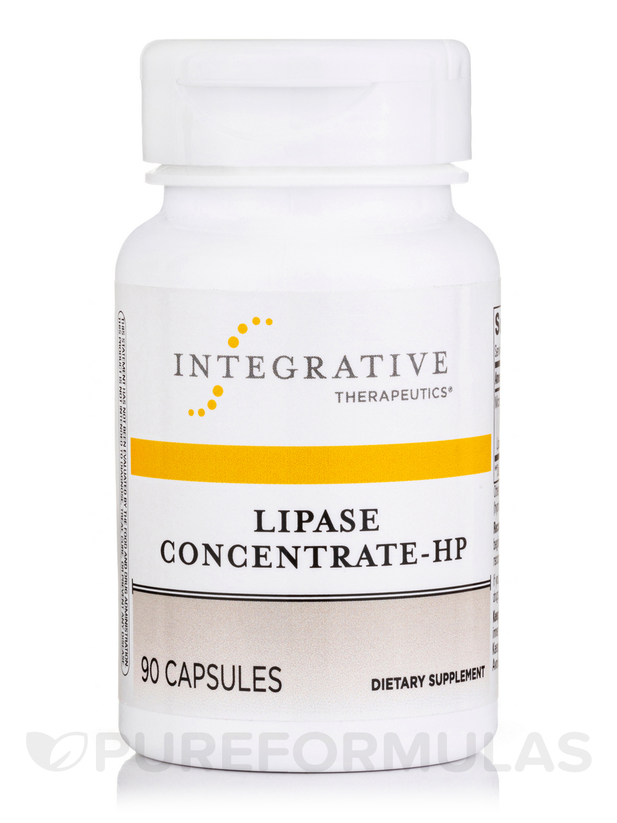 Lipase Concentrate-HP - 90 Capsules