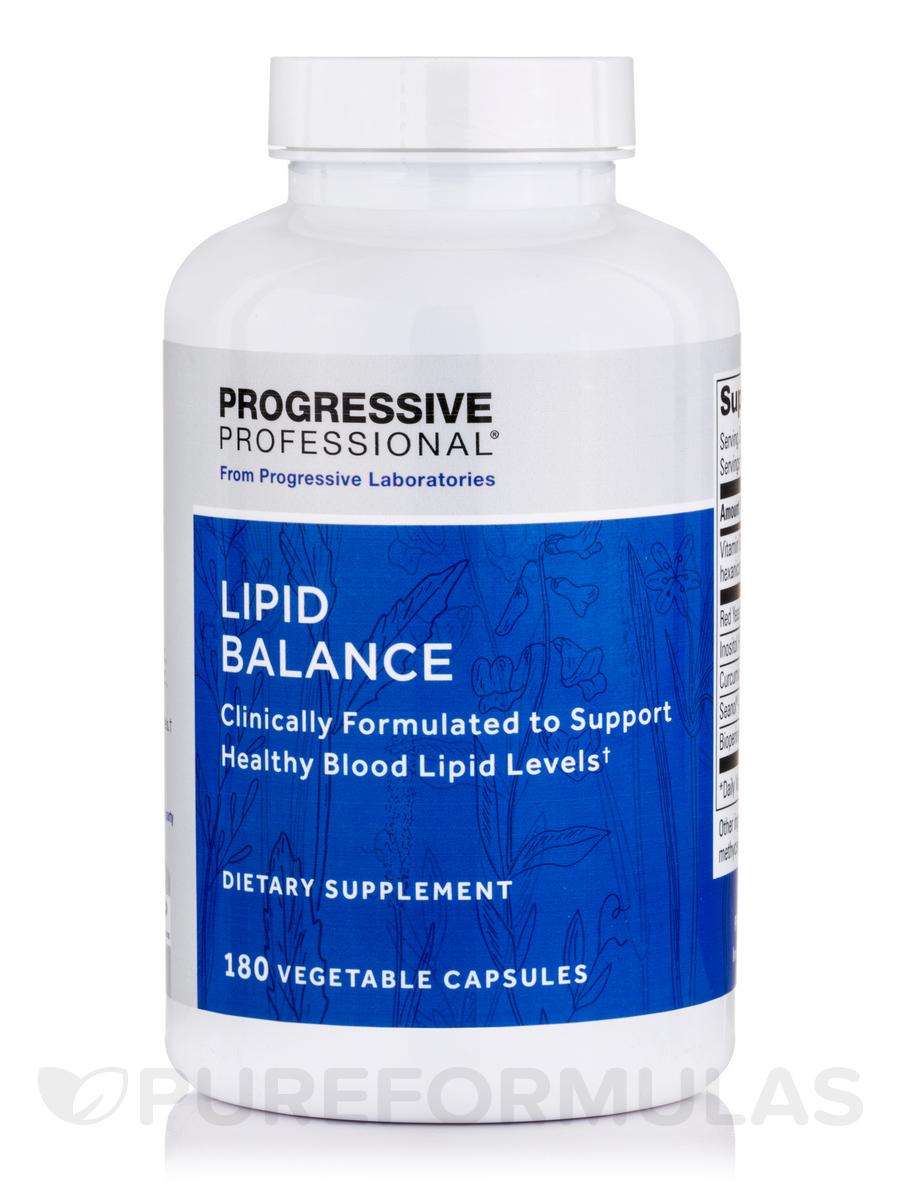 Lipid Balance - 180 Vegetable Capsules
