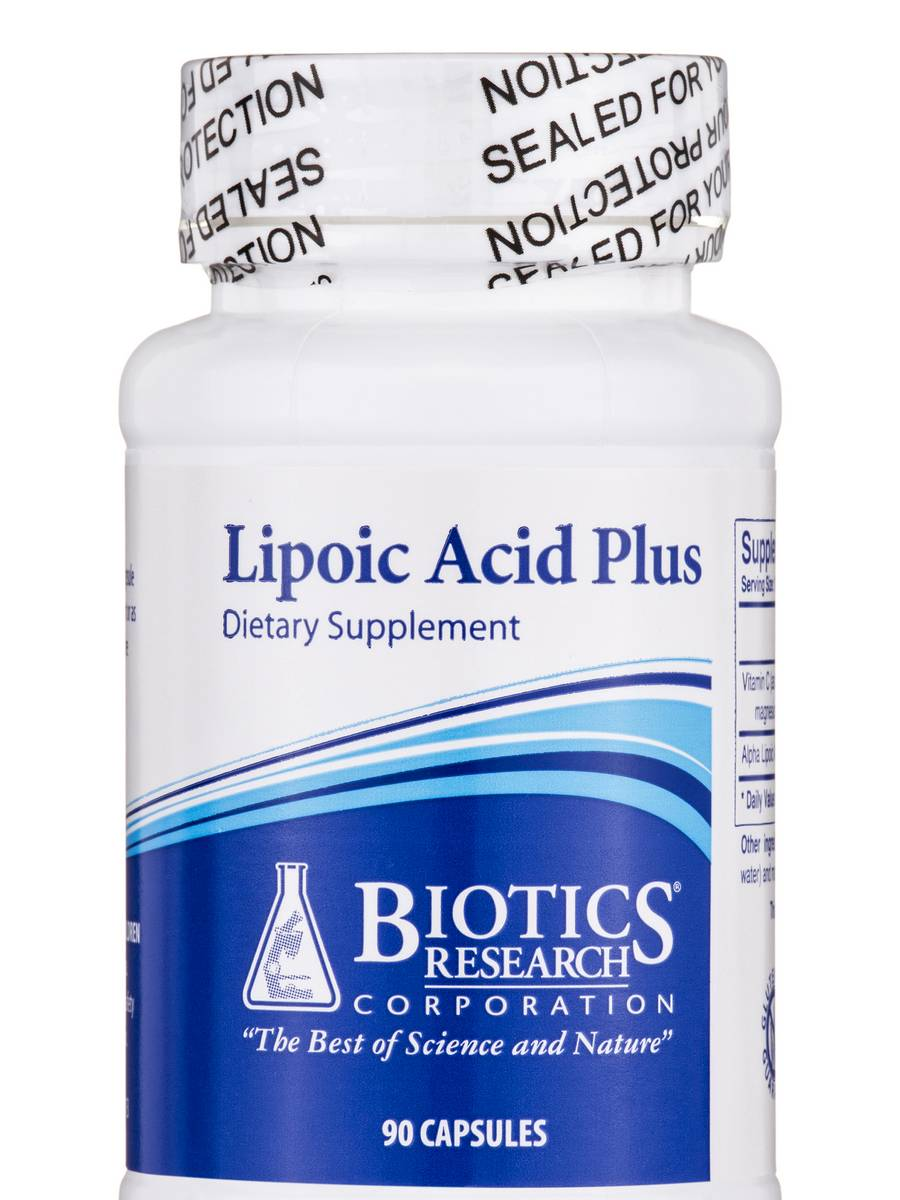 Lipoic Acid Plus - 90 Capsules