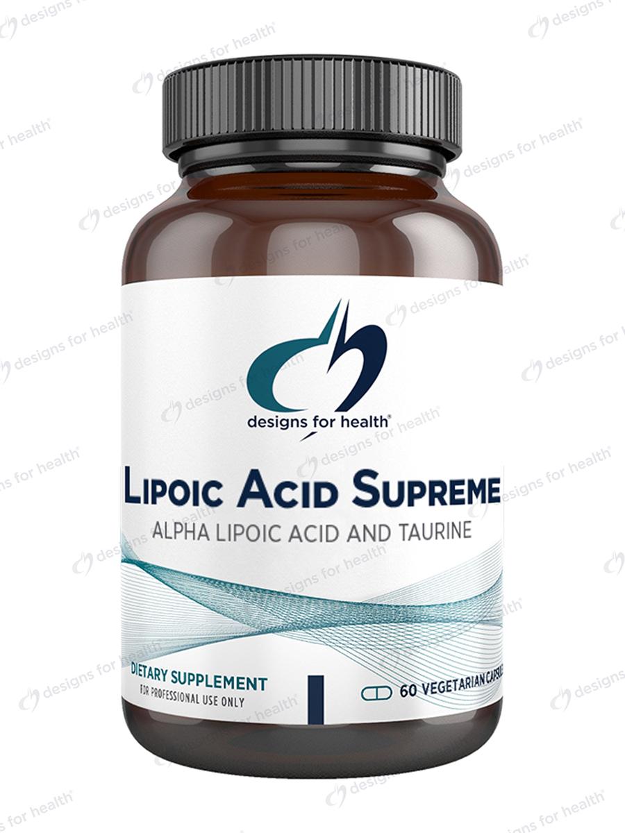 Lipoic Acid Supreme - 60 Vegetarian Capsules