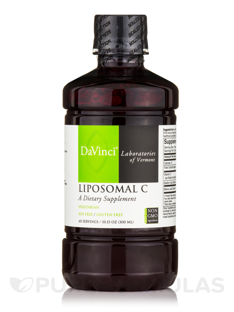 Liposomal C - 60 Servings (10.15 oz / 300 ml)