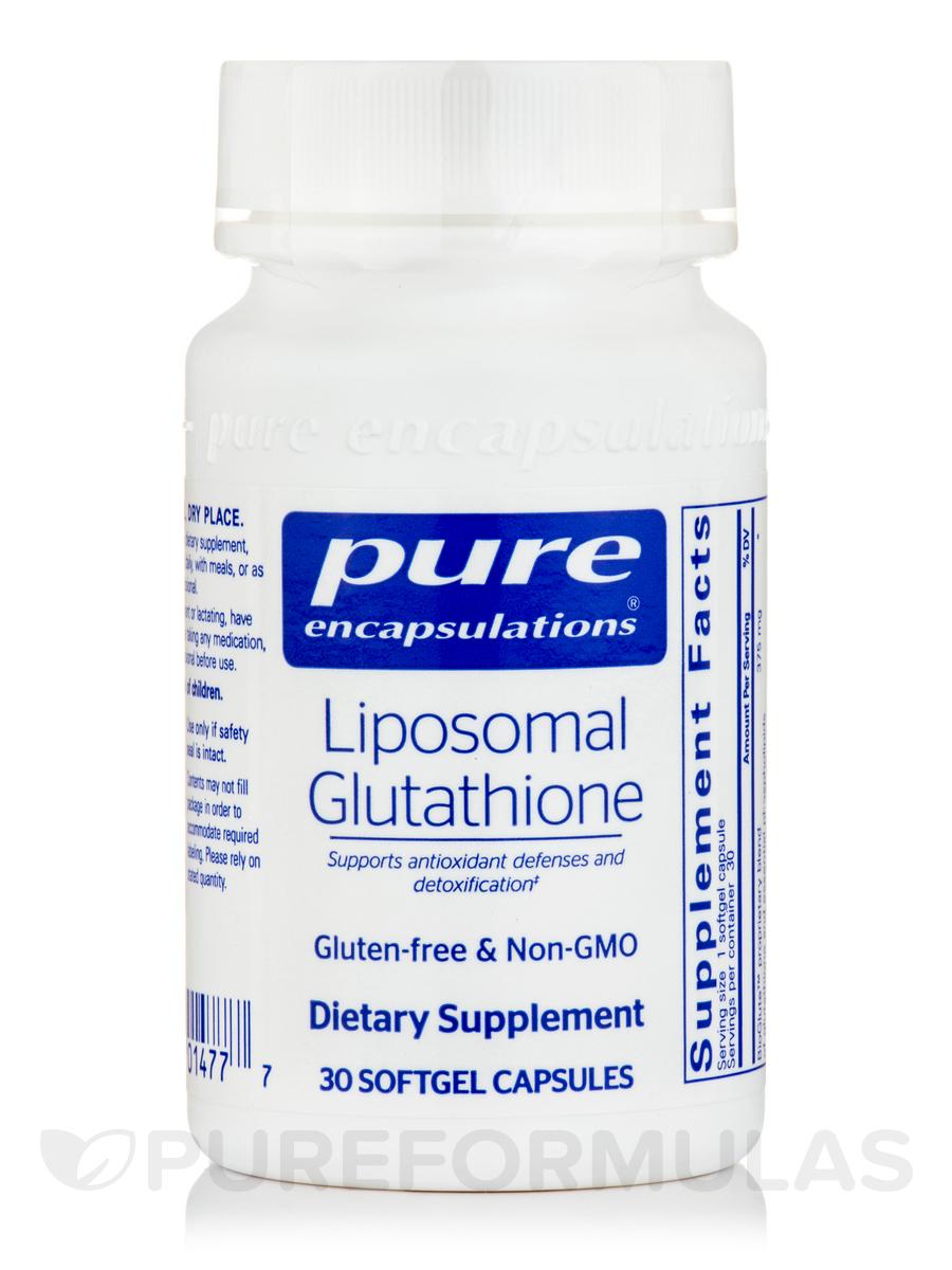 Liposomal Glutathione - 30 Softgel Capsules