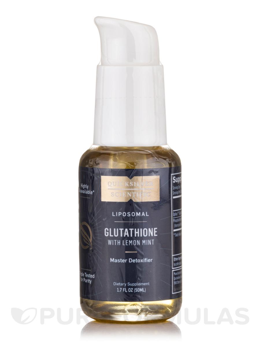 Liposomal Glutathione with Lemon Mint - 1.7 fl. oz (50 ml)