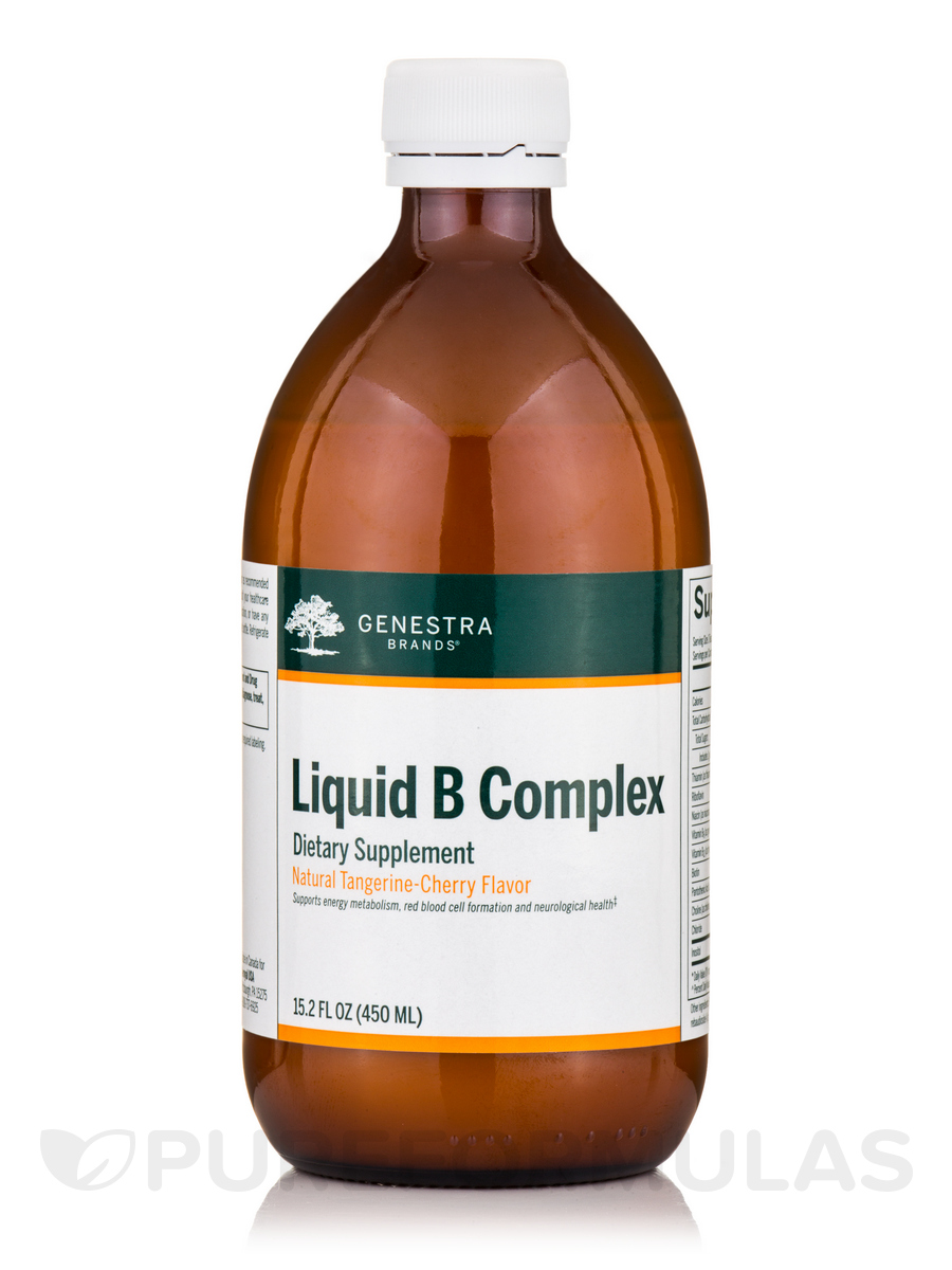 Liquid B Complex - 12.2 fl. oz (360 ml)