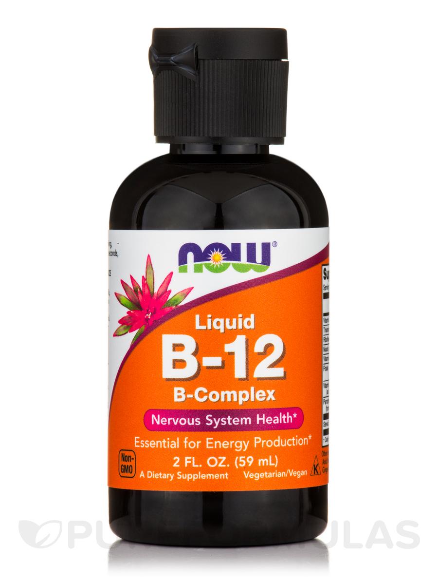 Liquid B-12 (B-Complex) - 2 fl. oz (59 ml)