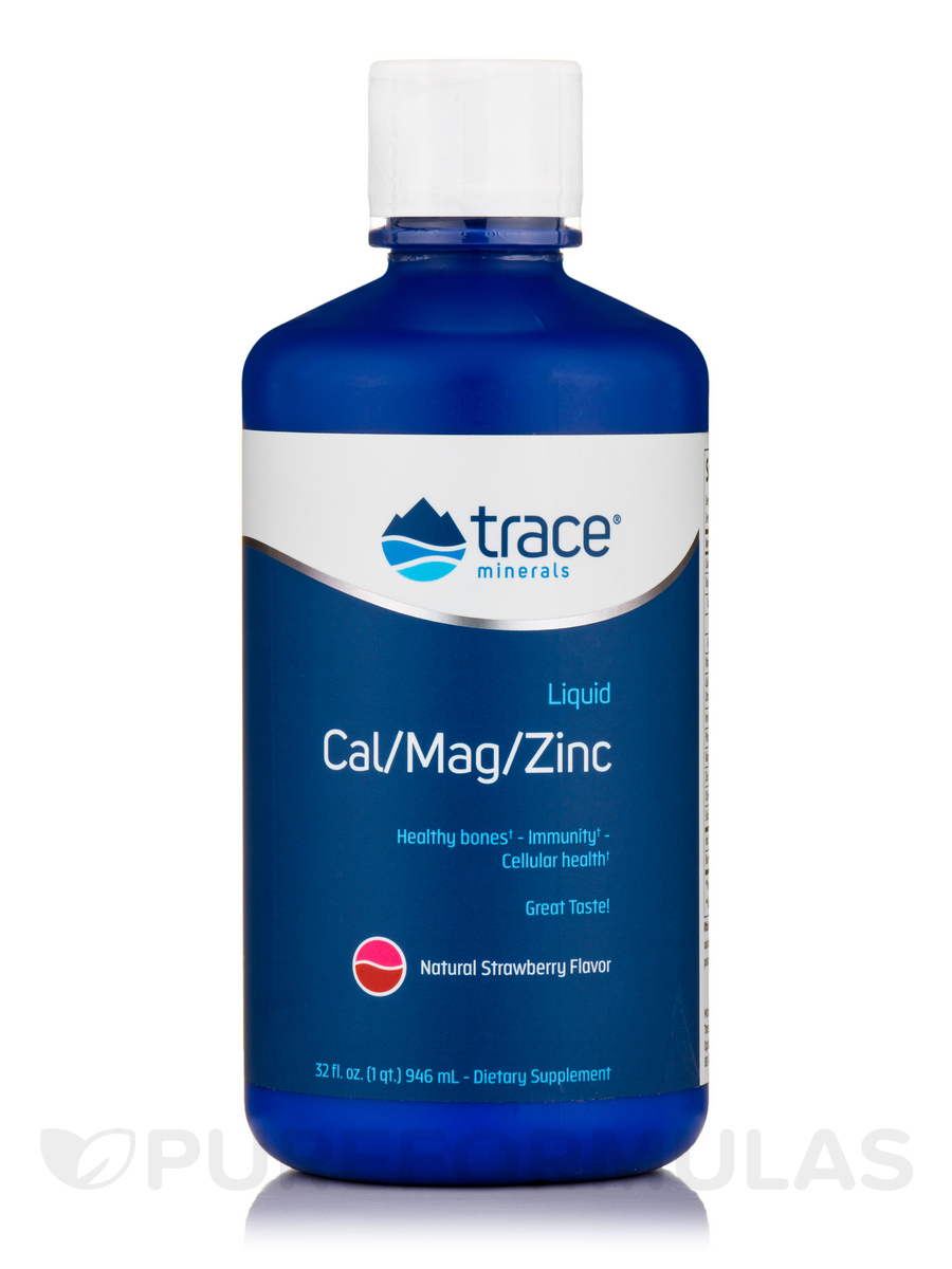 Cal/Mag/Zinc - Strawberry - 32 fl. oz (946 ml)