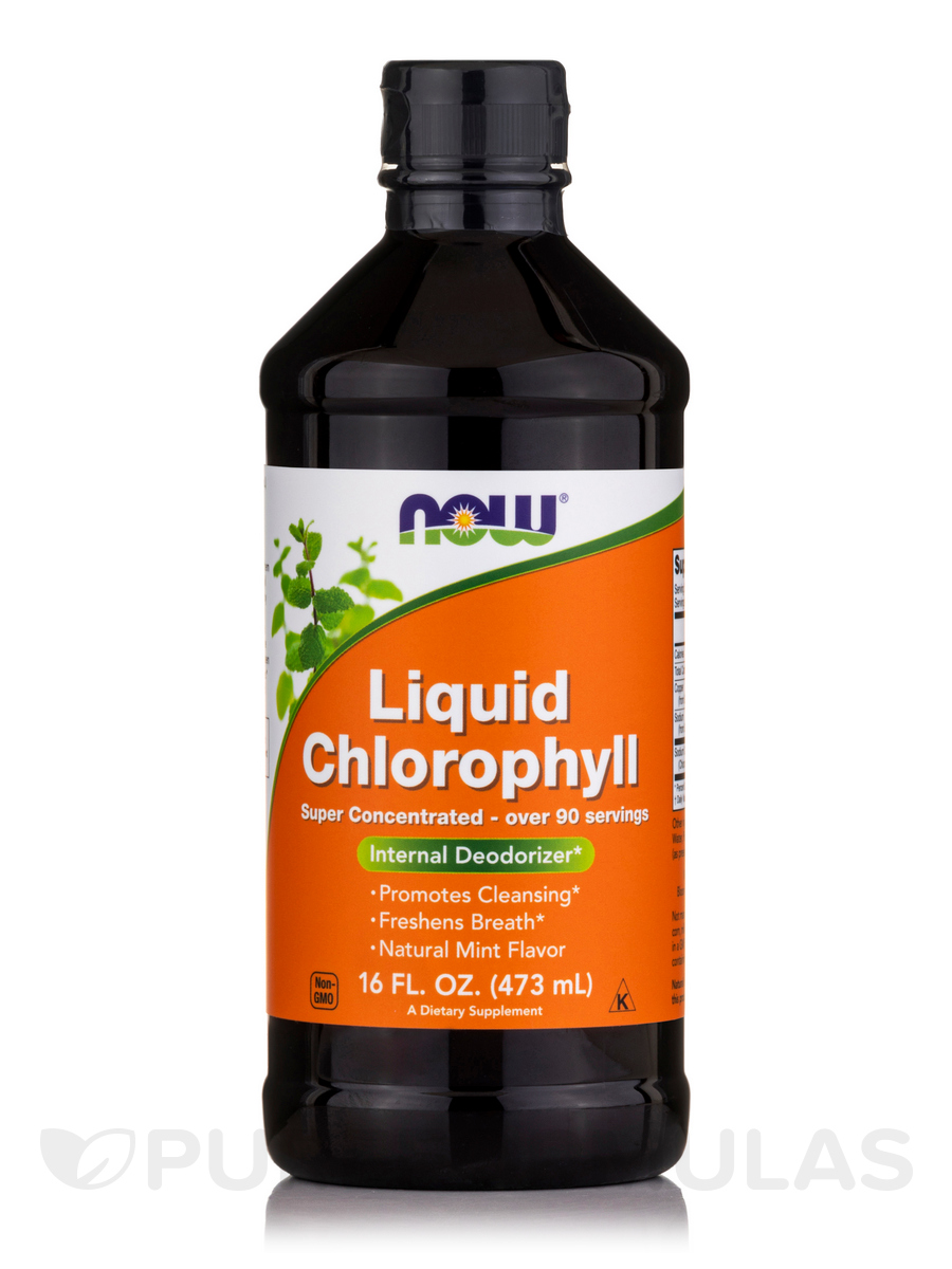 Liquid Chlorophyll Natural Mint Flavor - 16 fl. oz (473 ml)