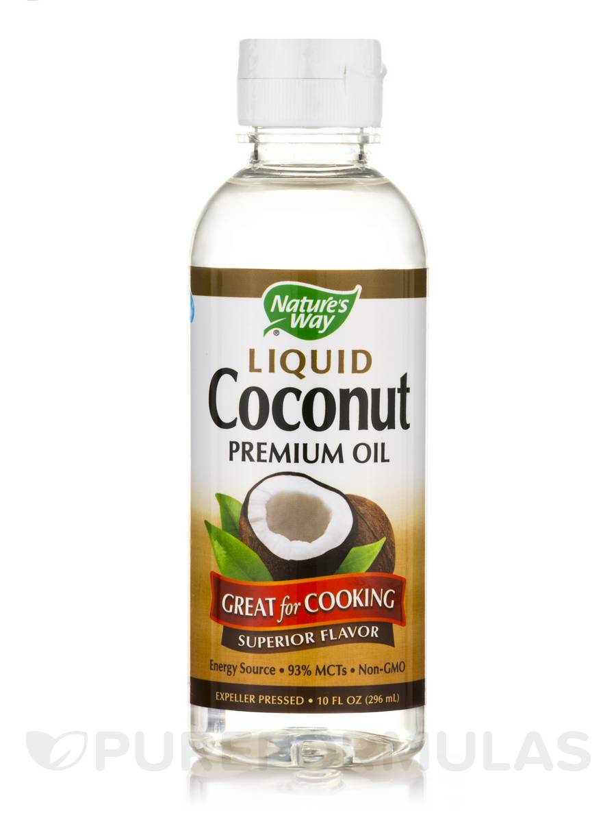 Liquid Coconut Premium Oil - 10 fl. oz (296 ml)