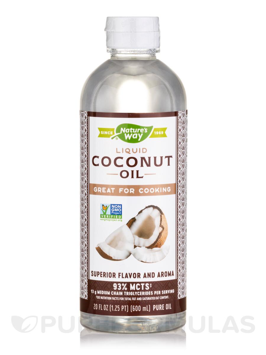 Liquid Coconut Premium Oil - 20 fl. oz (592 ml)