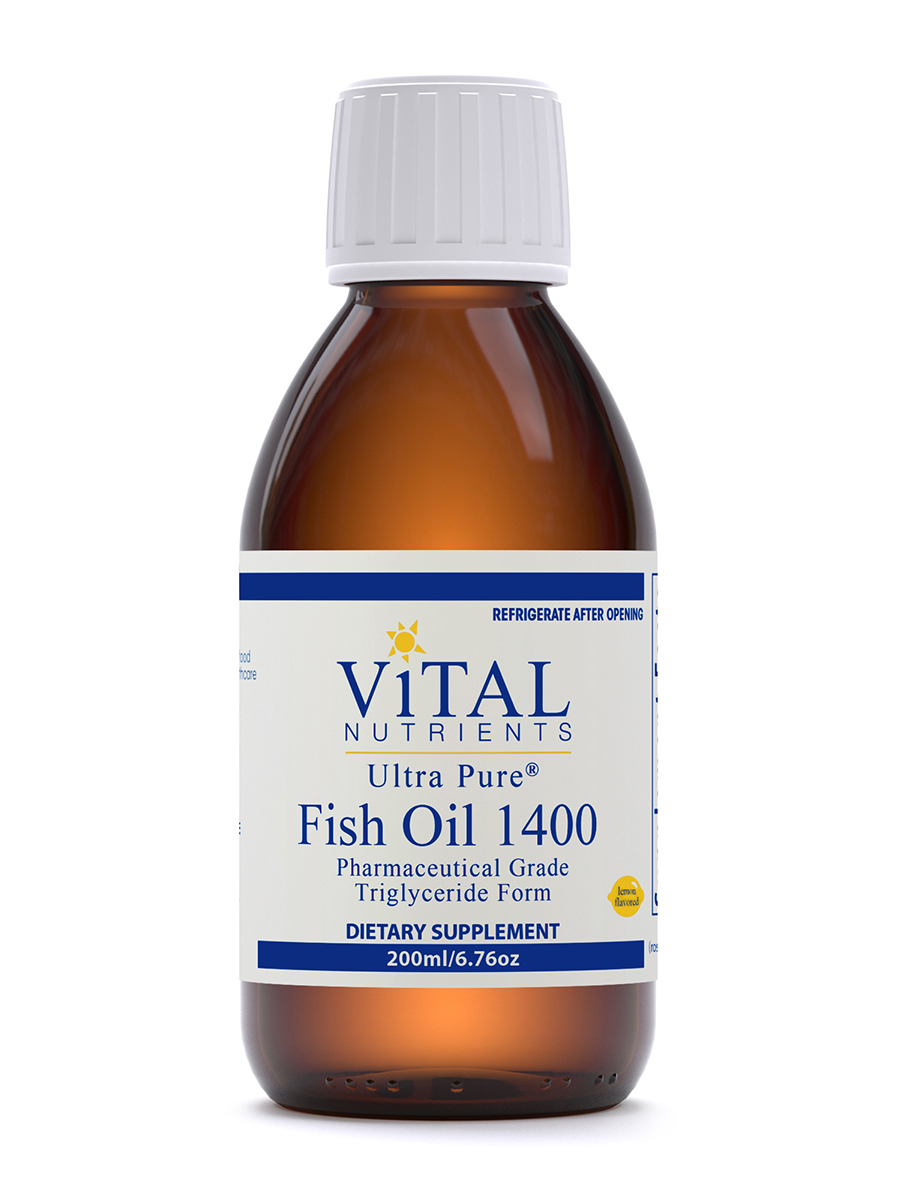 Ultra Pure Fish Oil 1400 Lemon Flavor - 200 ml