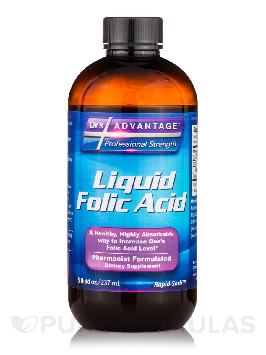 Liquid Folic Acid Supplement - 8 fl. oz (237 ml)