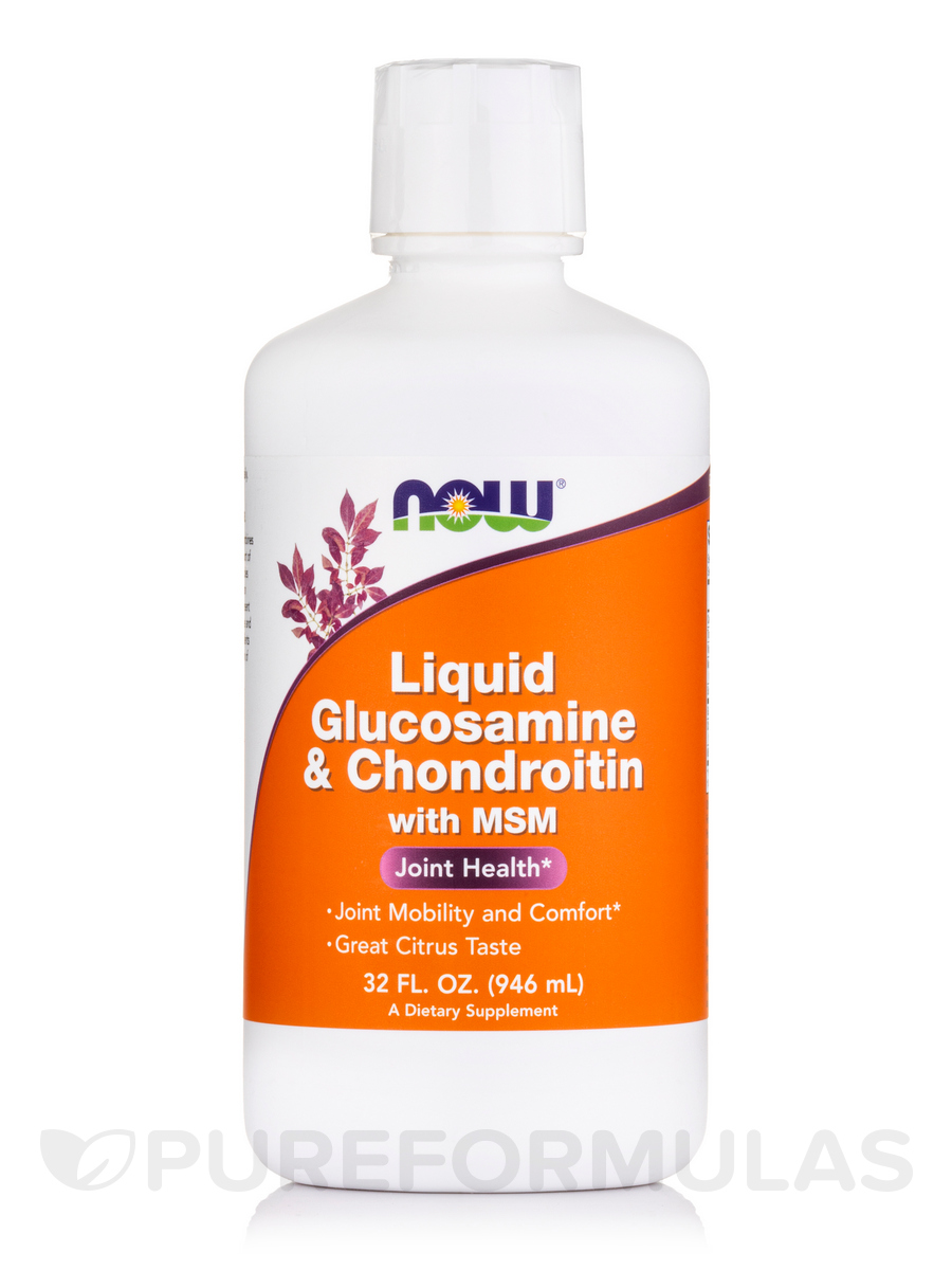Liquid Glucosamine & Chondroitin with MSM - 32 fl. oz (946 ml)