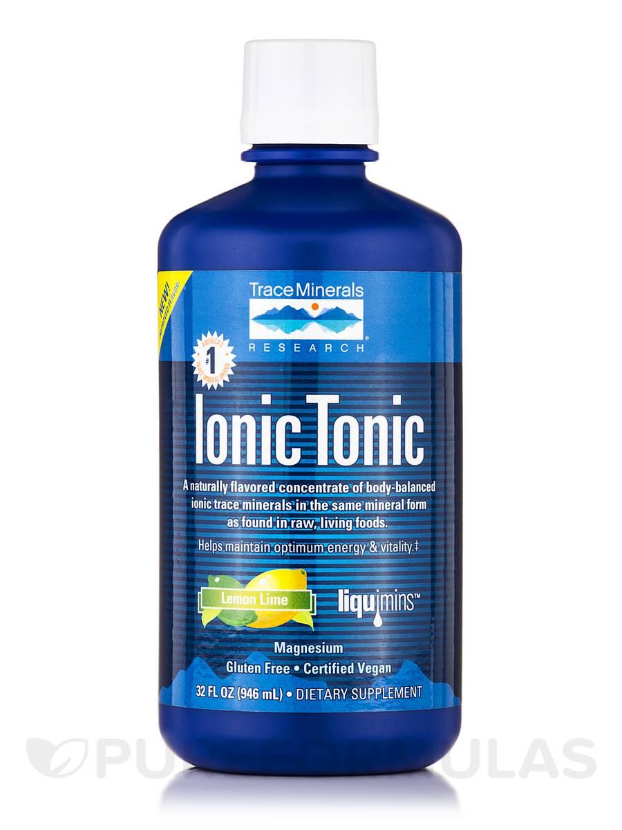 Ionic Tonic Lemon Lime Flavor - 32 fl. oz (946 ml)