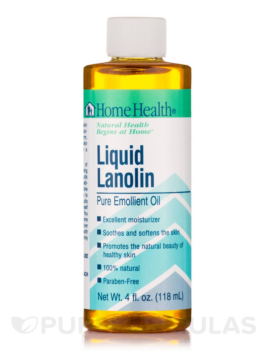 Liquid Lanolin Pure Emollient Oil - 4 fl. oz (118 ml)