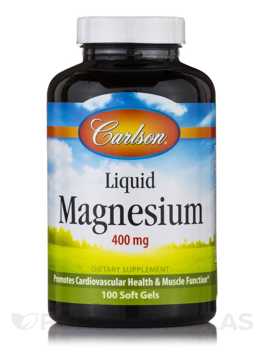Liquid Magnesium 400 mg - 100 Soft Gels