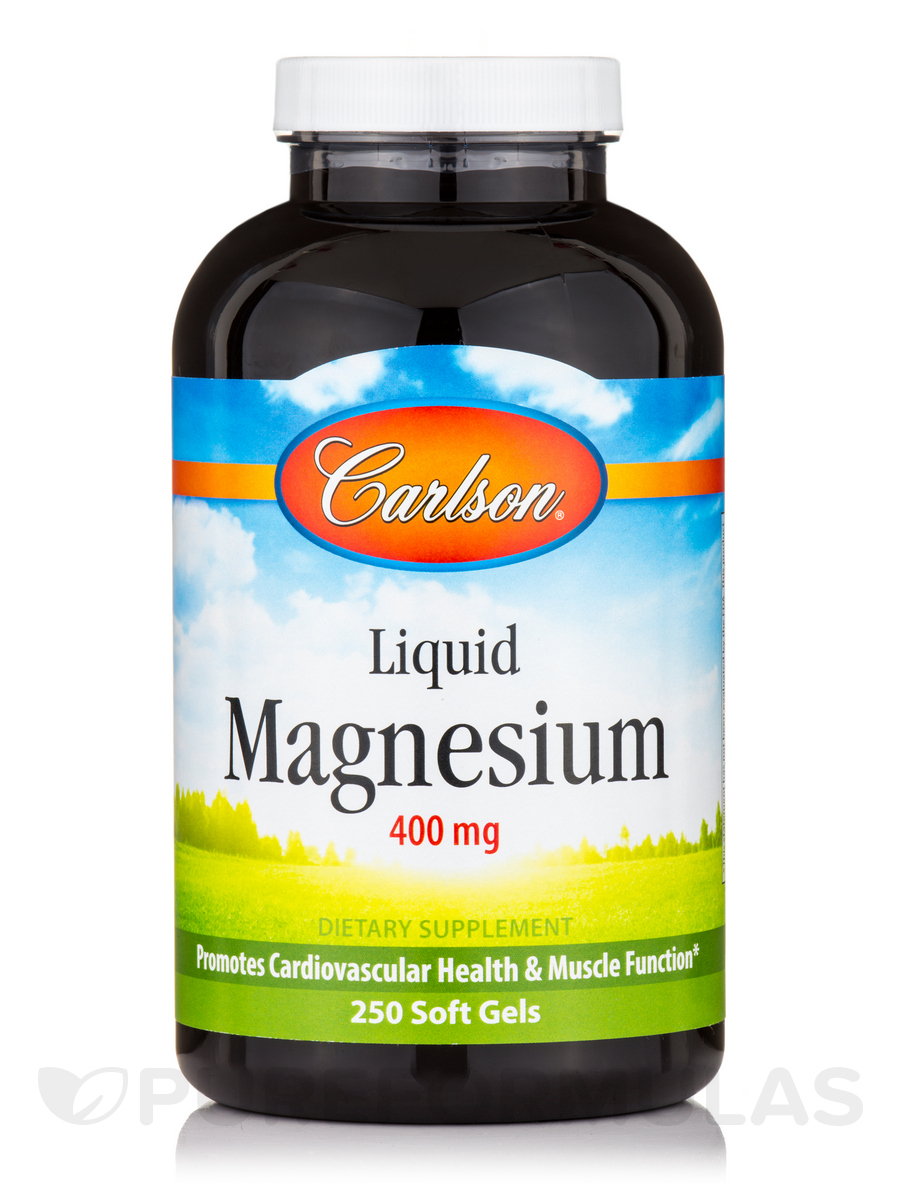 Liquid Magnesium 400 mg - 250 Soft Gels