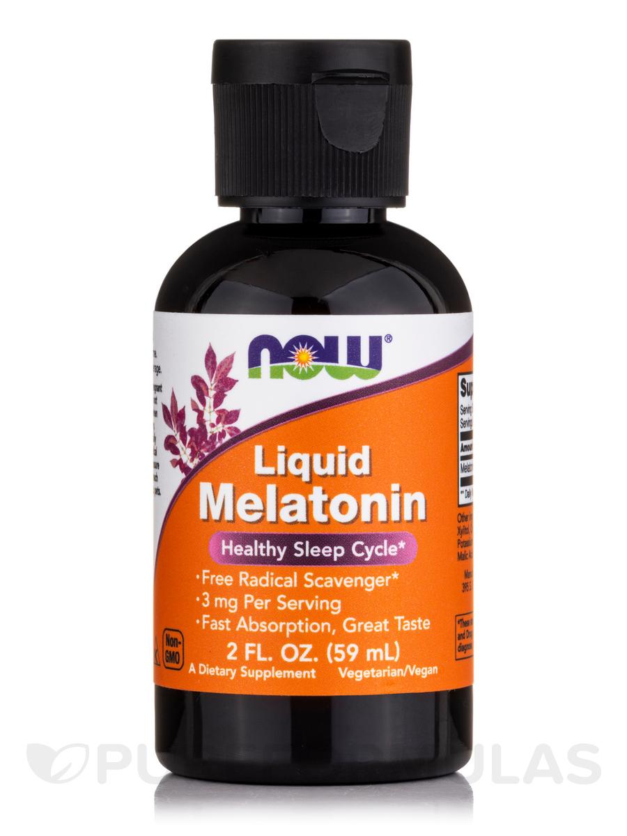 Liquid Melatonin - 2 fl  oz (59 ml)