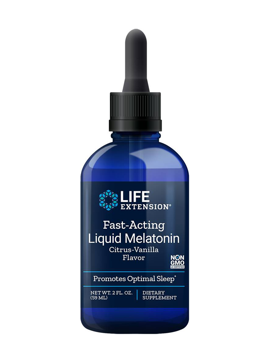 Fast-Acting Liquid Melatonin, Citrus-Vanilla Flavor - 2 fl. oz (59 ml)