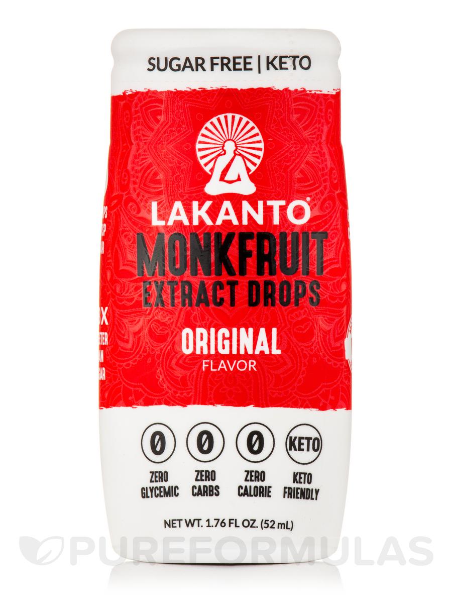 Monkfruit Extract Drops, Original - 1.76 fl oz (52 ml)