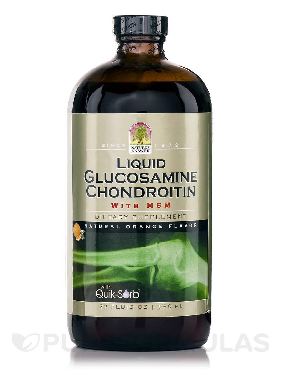Liquid Platinum Glucosamine & Chondroitin - 32 fl. oz (960 ml)