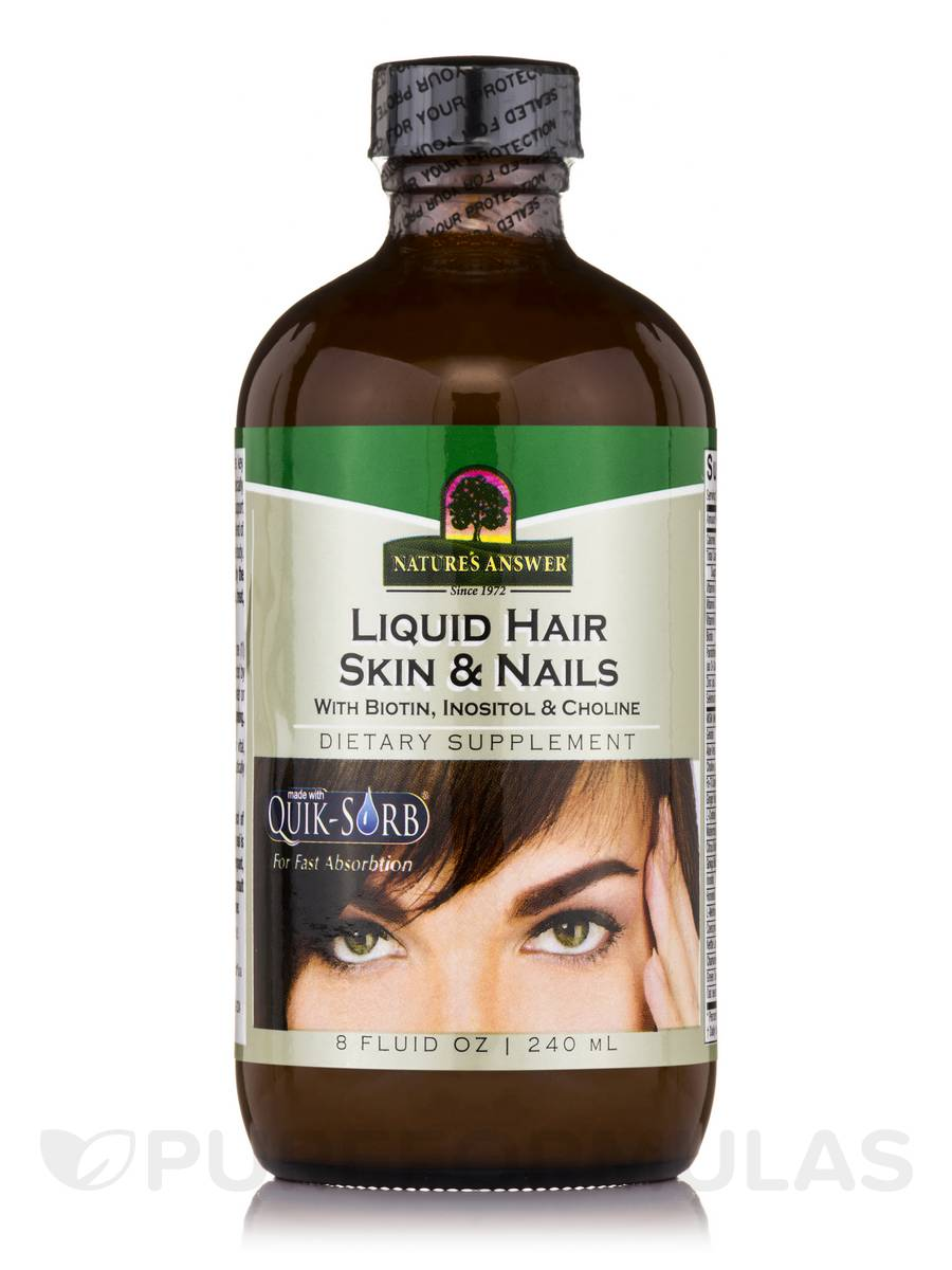 Liquid Platinum Hair, Skin, Nails - 8 fl. oz (240 ml)