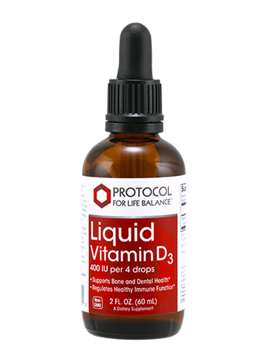 Liquid Vitamin D3 - 2 fl. oz (60 ml)