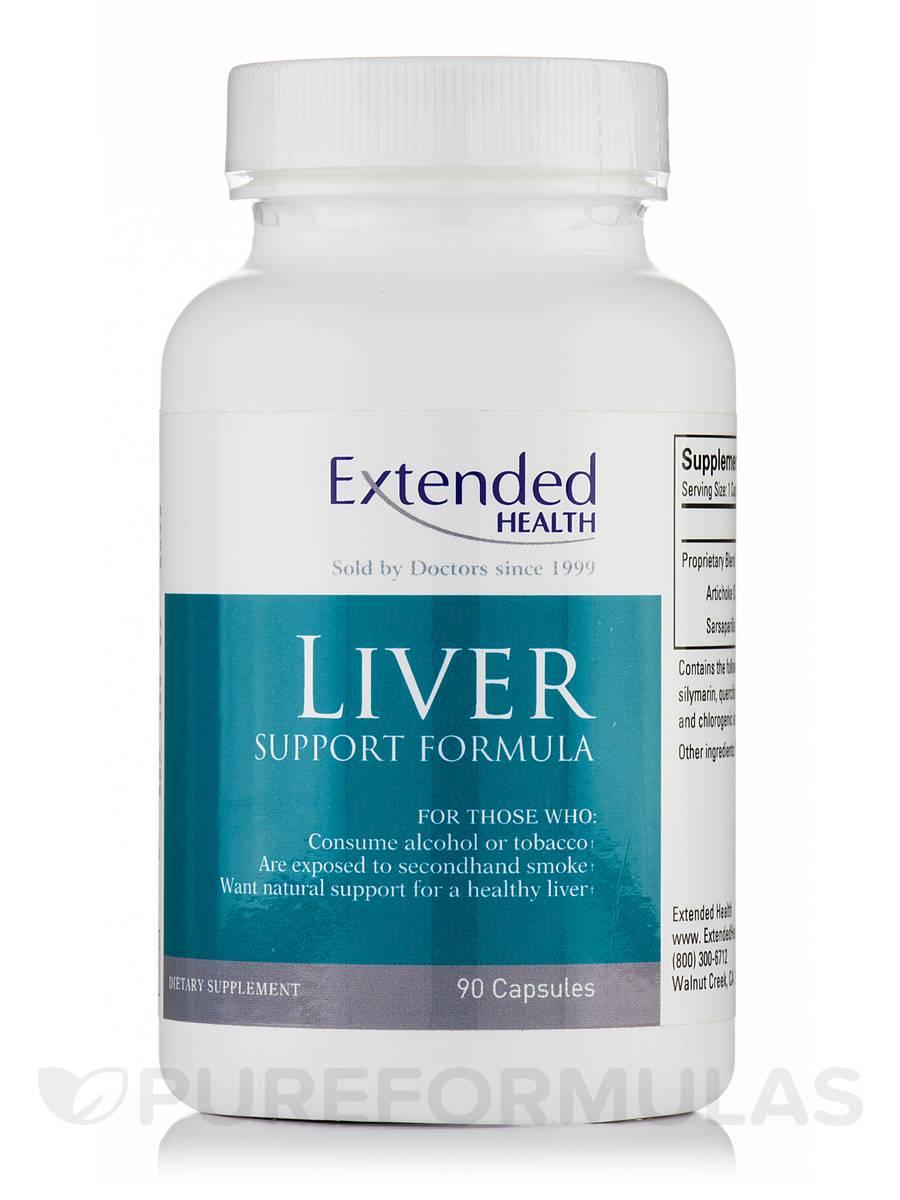 Liver Support Formula - 90 Capsules
