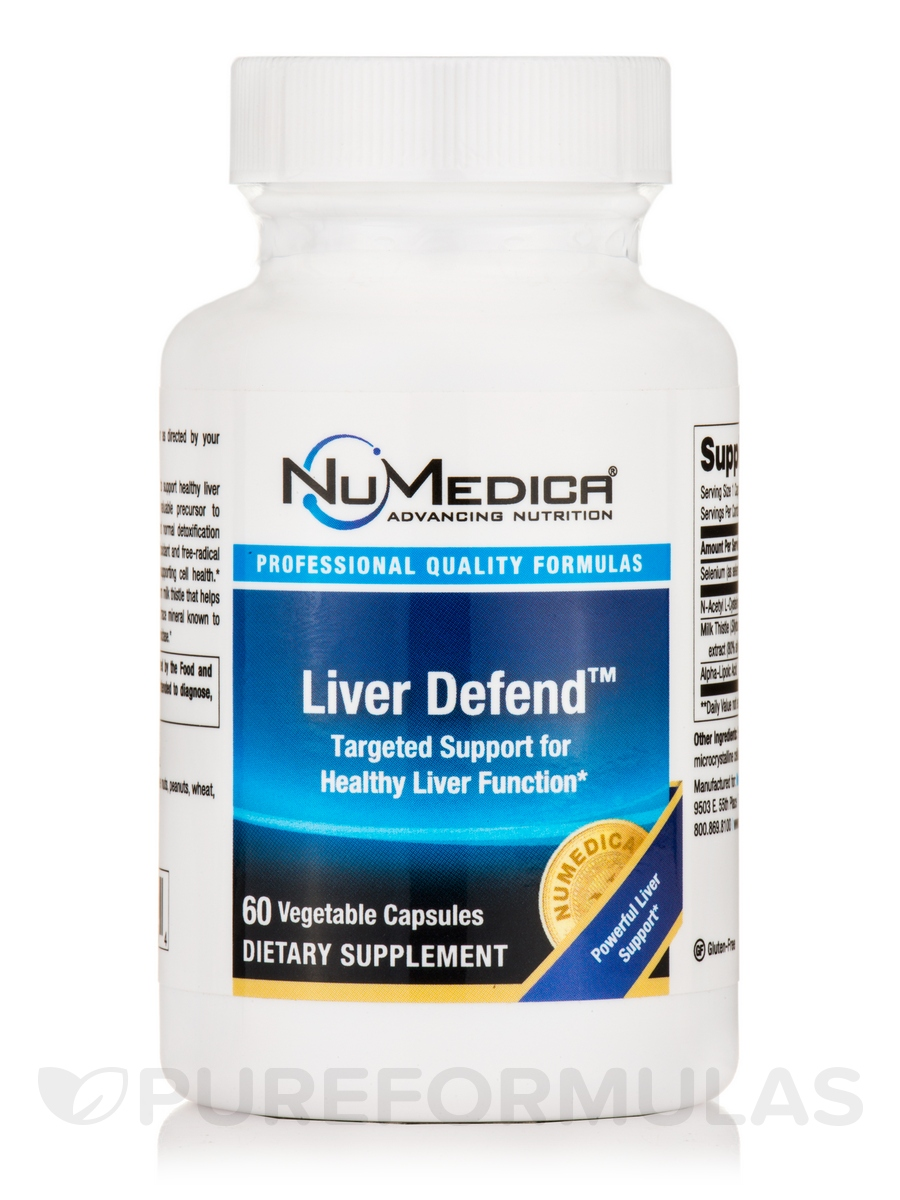 Liver Defend - 60 Vegetable Capsules