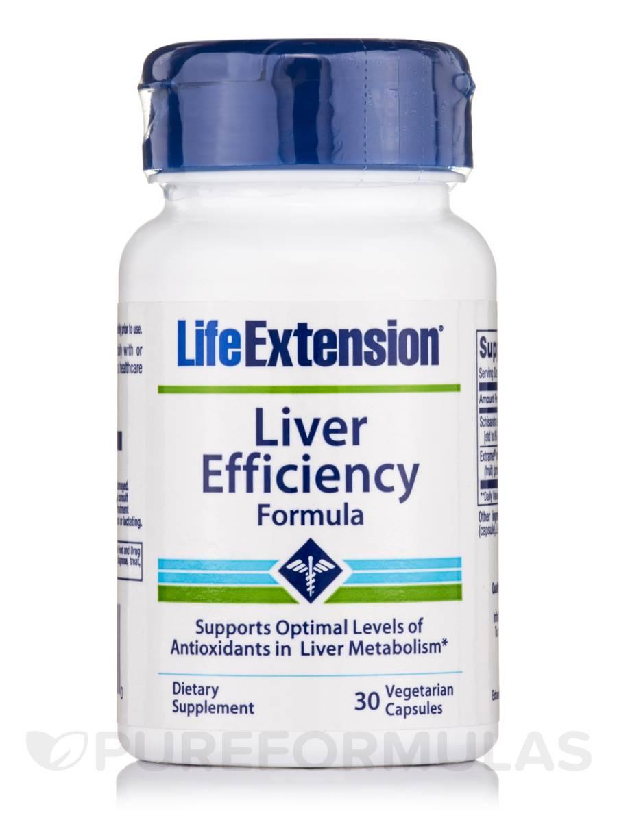 Liver Efficiency Formula - 30 Vegetarian Capsules
