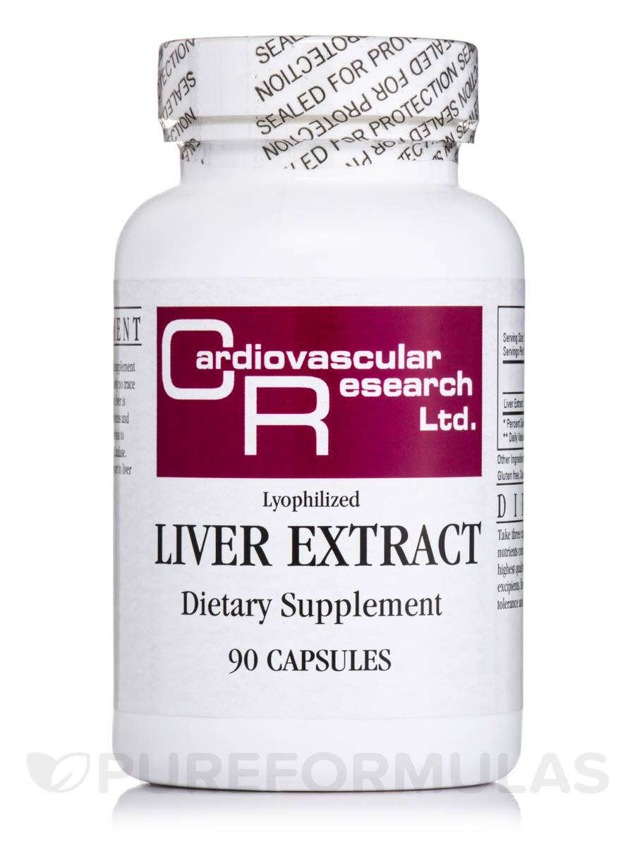Liver Extract - 90 Capsules