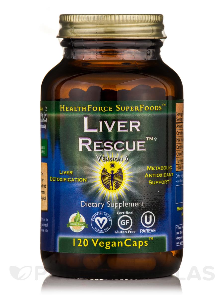 Liver Rescue™ - 120 Vegan Capsules