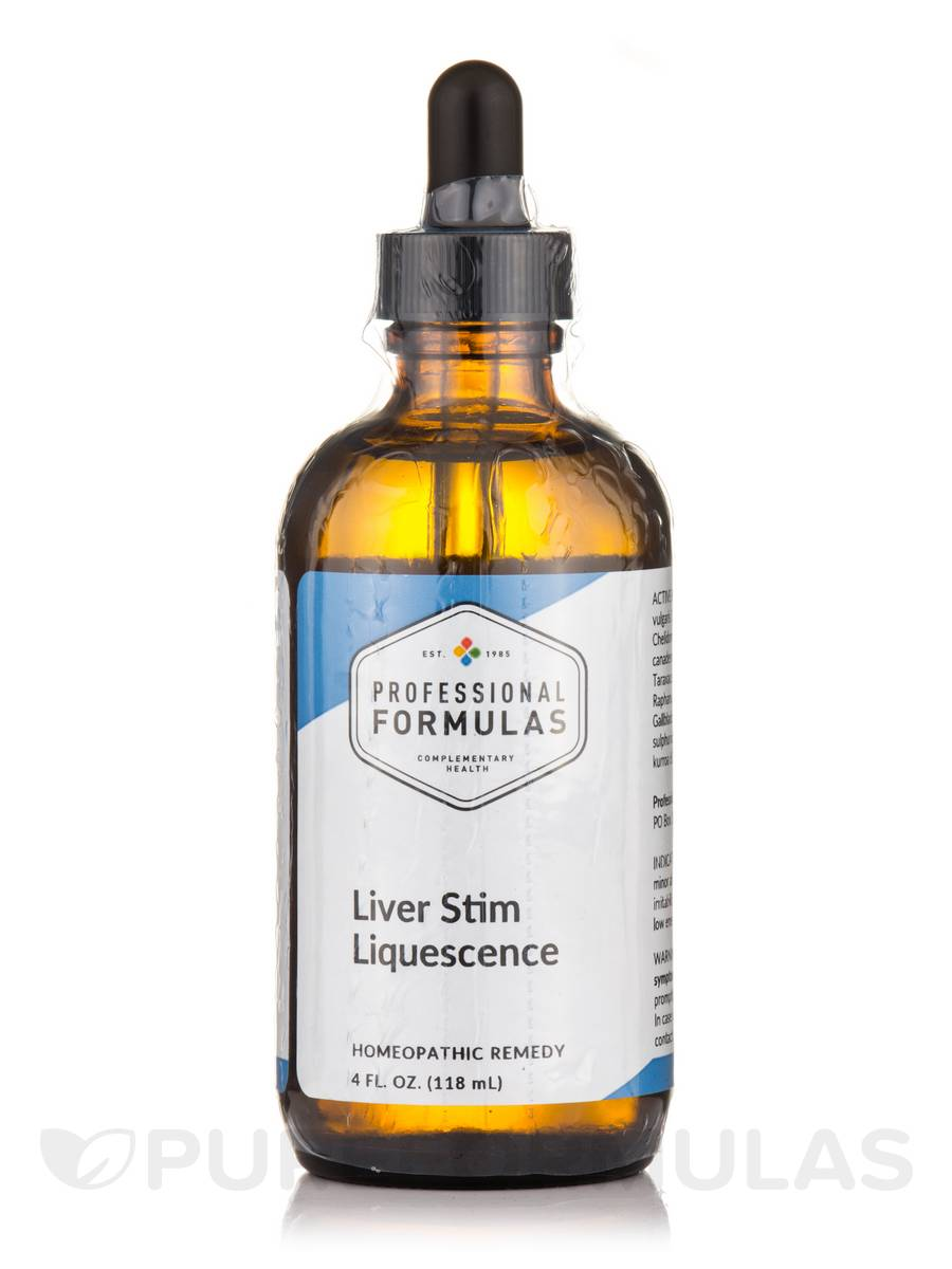 Liver Stim Liquescence - 4 fl. oz (118 ml)
