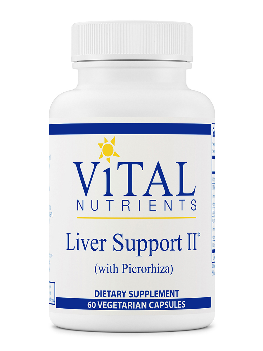 Liver Support II with Picrorhiza - 60 Vegetable Capsules