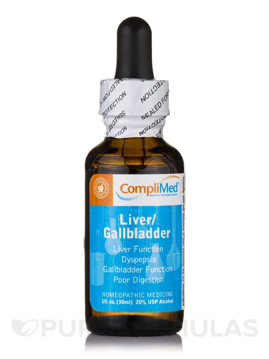 CompliMed Detoxification - Liver/Gallbladder - 1 fl. oz (30 ml)