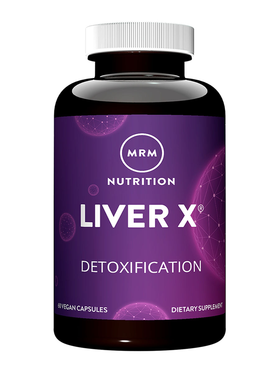 LiverX™ with NAC, ALA, Biosorb™ & more-Advanced Liver Support - 60 Vegetarian Capsules