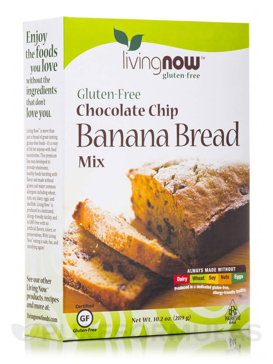 LivingNow™ Chocolate Chip Banana Bread - 10.2 oz (289 Grams)
