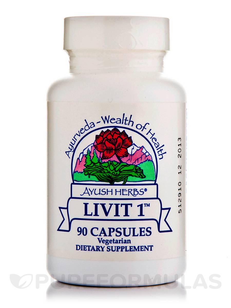 Livit-1 250 mg - 90 Vegetarian Capsules