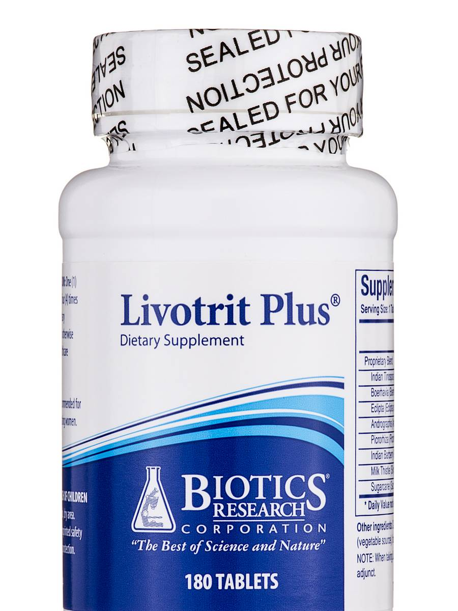 Livotrit Plus - 180 Tablets