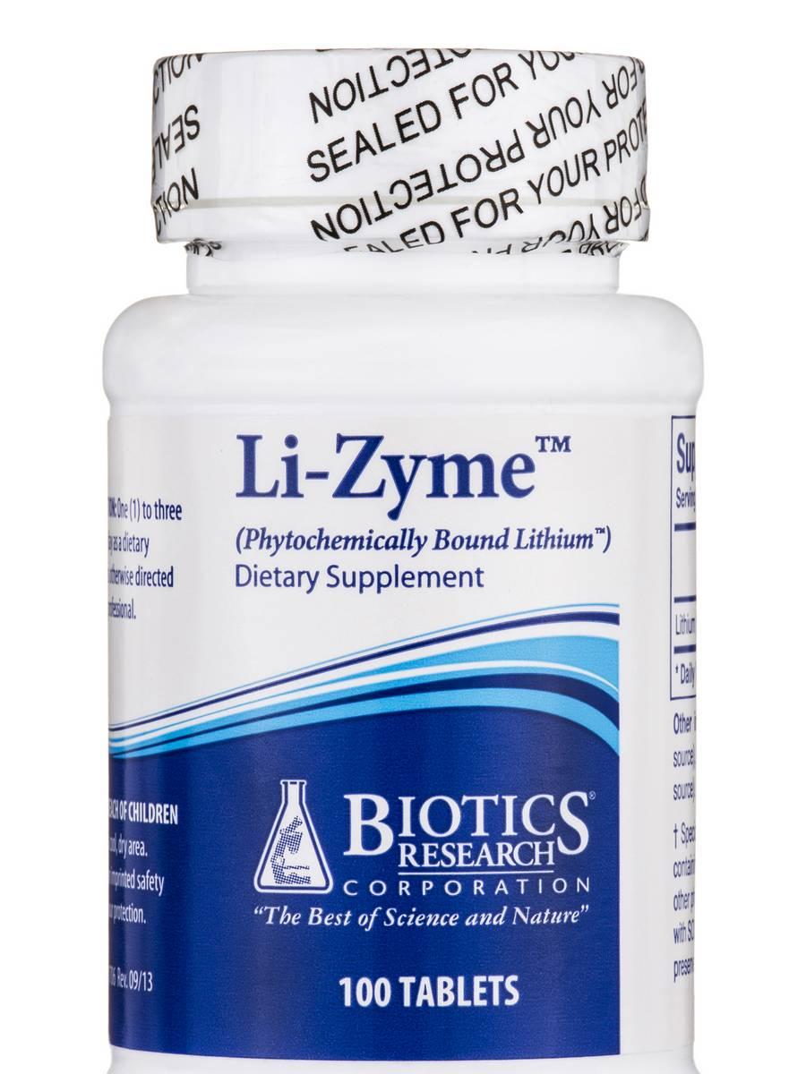 Li-Zyme - 100 Tablets