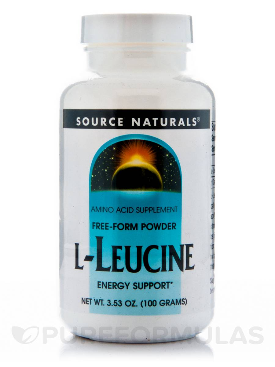 L-Leucine Powder - 3.53 oz (100 Grams)