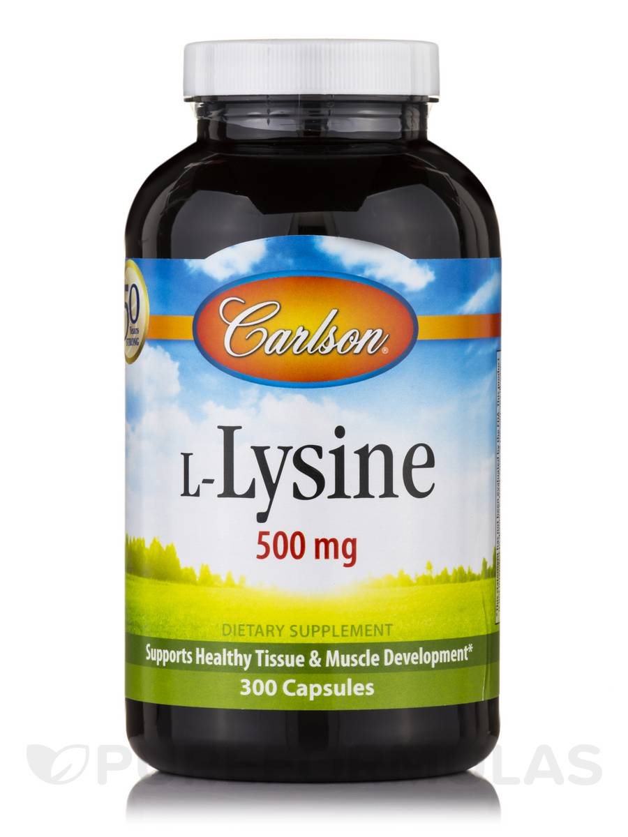 L-Lysine - 300 Capsules
