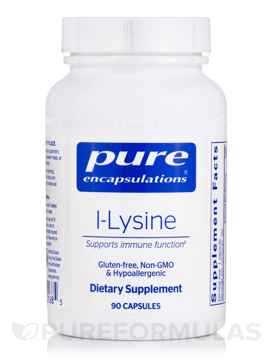 l-Lysine - 90 Capsules